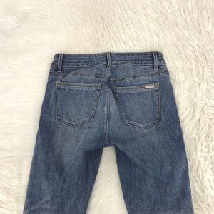 WHBM The Skimmer Jeans Sz 2 X 28 Inseam O5
